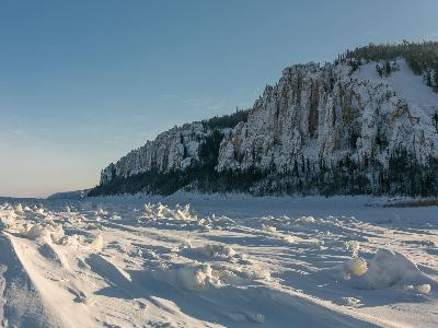 Winter mosaic in Yakutia